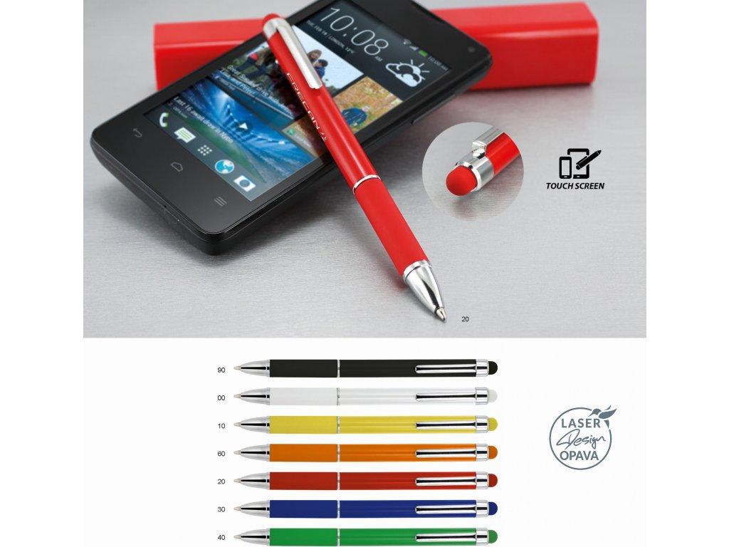 Hliníkové kuličkové pero Unusual