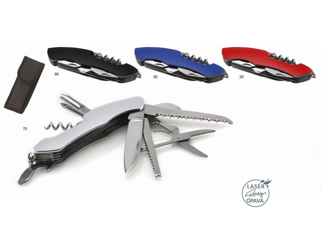 Kapesní kovový nůž Negeu