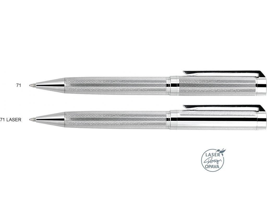 Luxusní kovové kuličkové pero Curtain