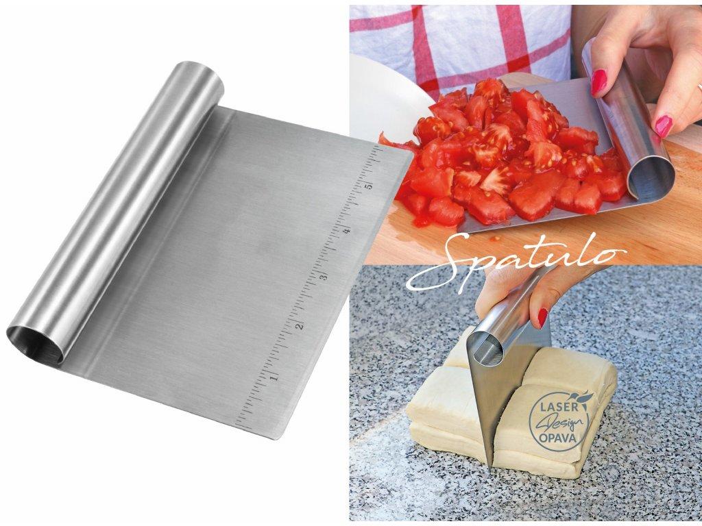 Nerezová kuchyňská stěrka Spatulo