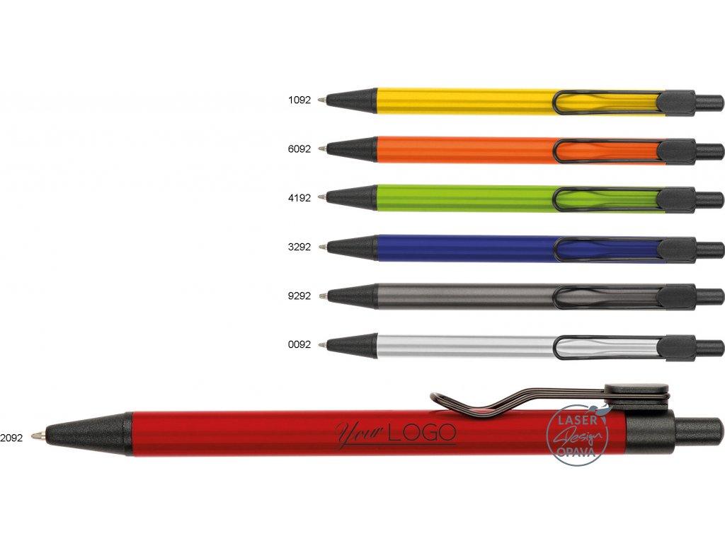 Hliníkové kuličkové pero Conis