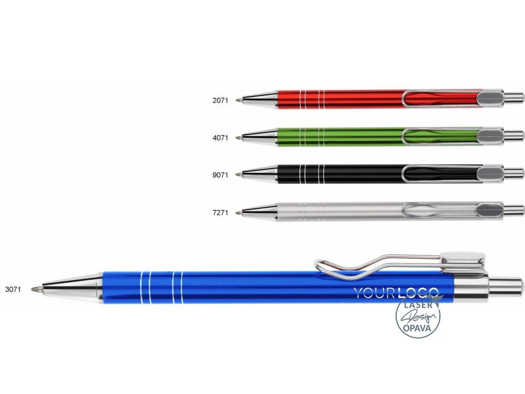 Hliníkové kuličkové pero Modea