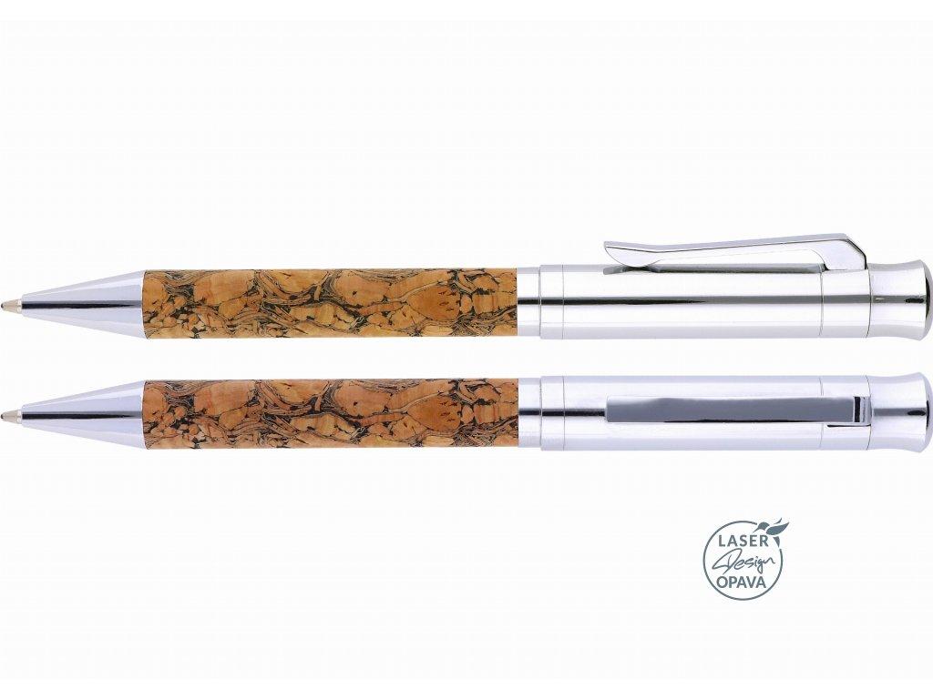 Luxusní kovové kuličkové pero Corey