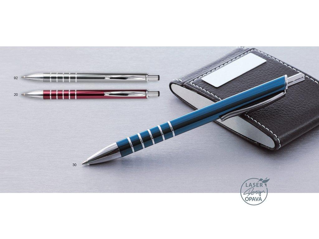 Hliníkové kuličkové pero Zorre