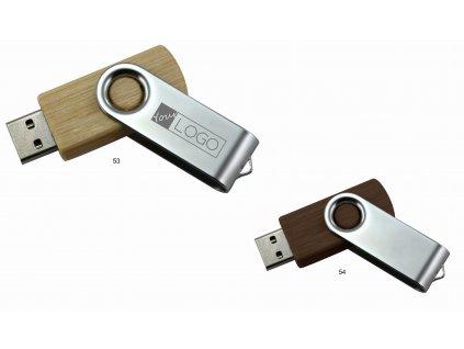 USB Flash disk Flash 03 wood - 16 GB