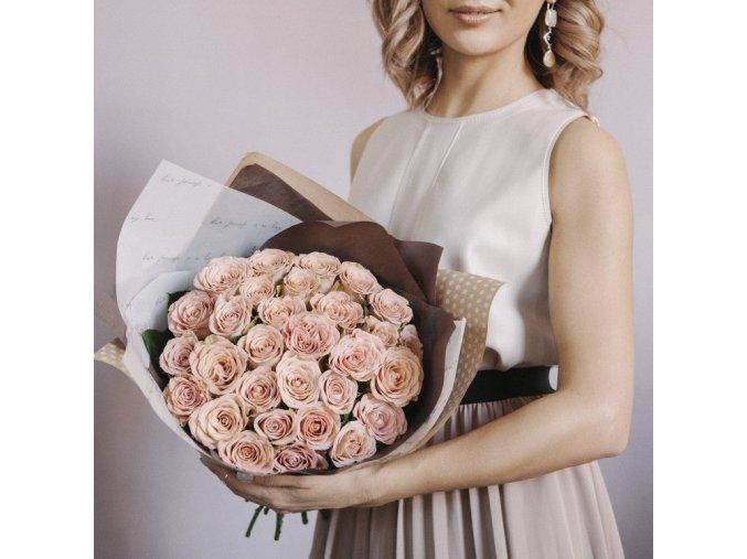Růže Cappuccino