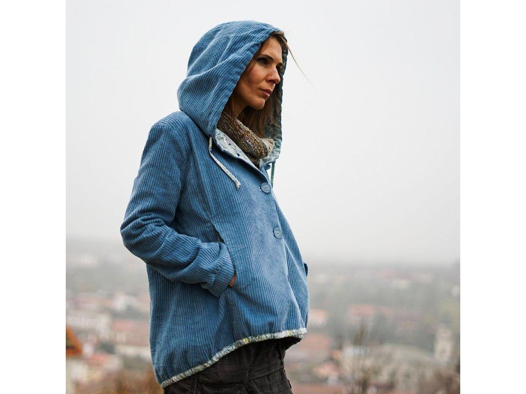 Dámský kabát sako (Le Mi česká móda)