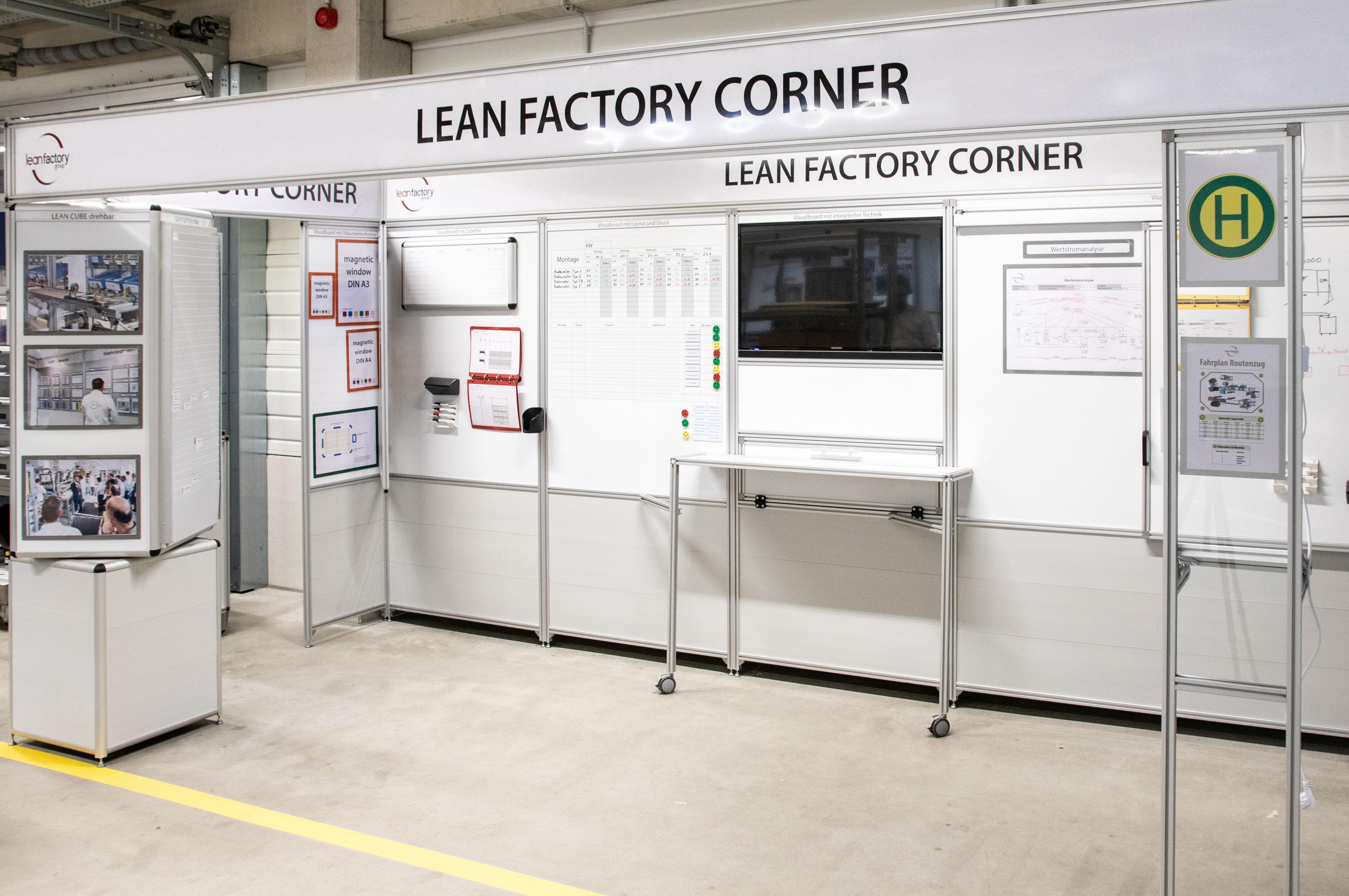 Lean factory corner
