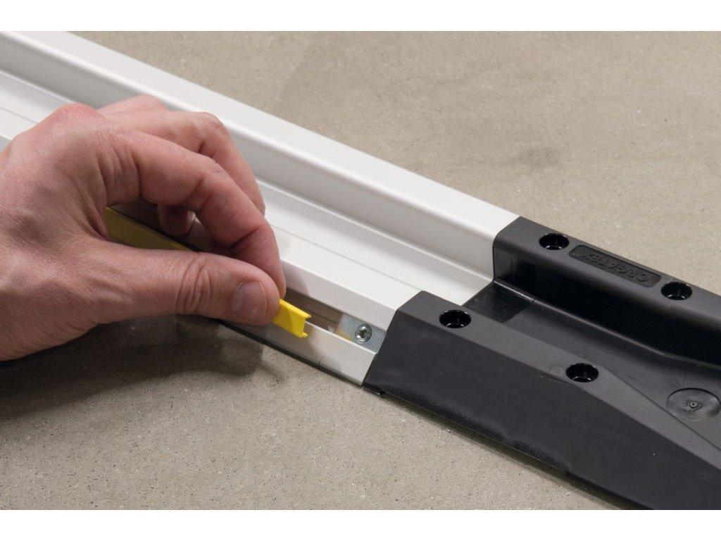 FiFo monorail krycí lišta drážky