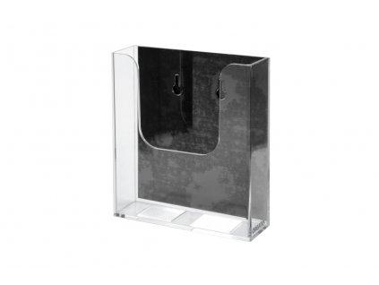 Magnetická dopisní schránka - transparentní