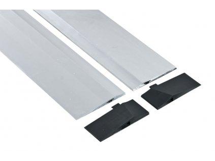 Blok parkovací podlahový aluminiový nízký-nízký