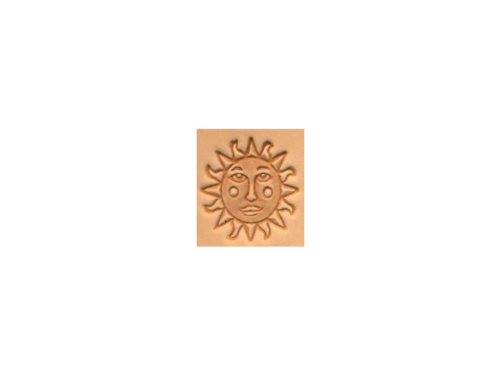 3D raznice Tvář slunce