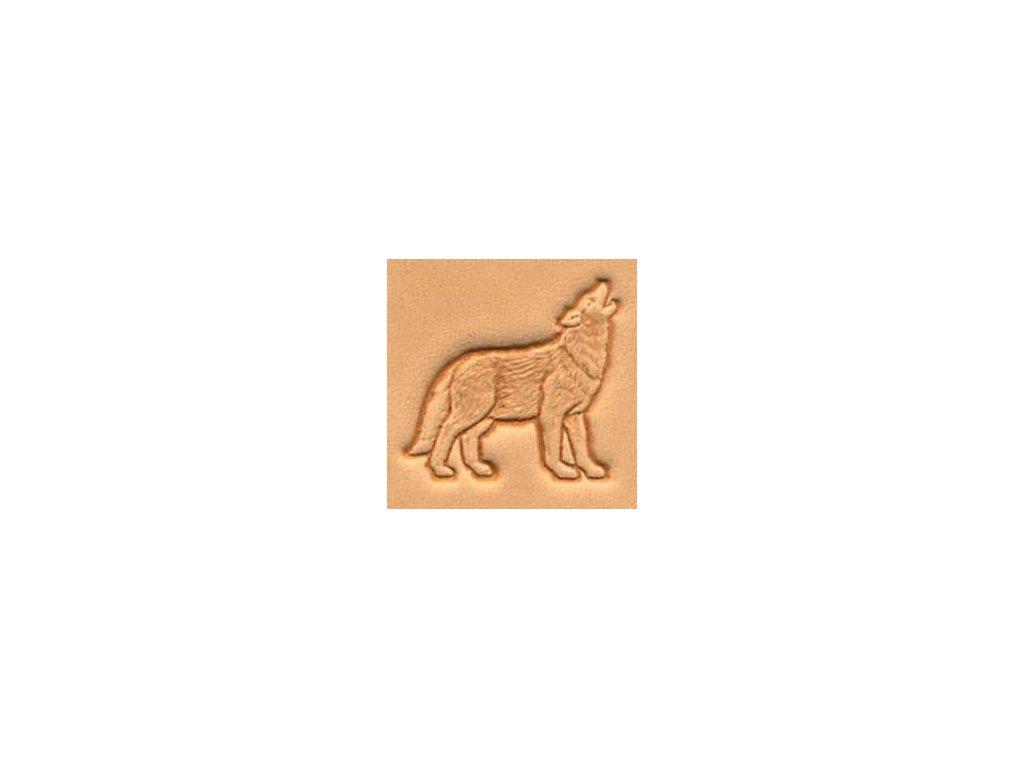 3D raznice Vlk