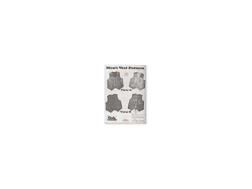 Prace-s-kuzi-kniha--Men's-Vest-Pattern-Men's-Vest-Pattern