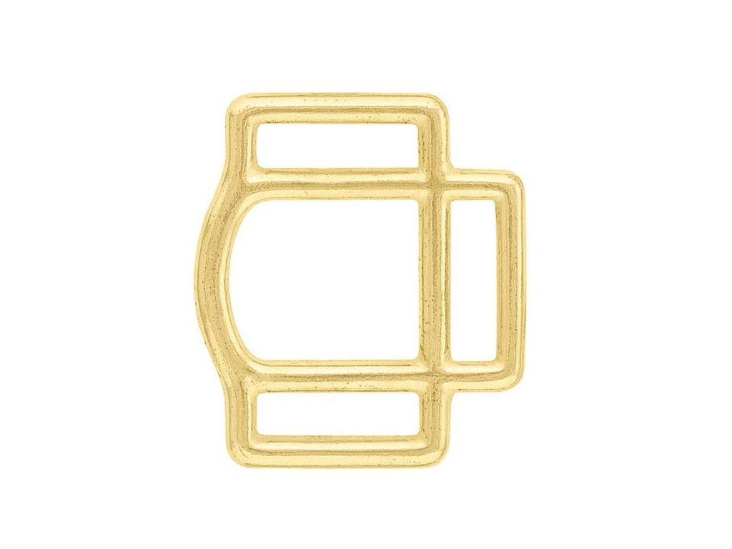 """#370 Ohlávkový čtverec Mosaz Profi (Velikost 1"""" (25 mm))"""