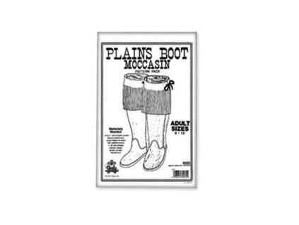 Prace-s-kuzi-kniha--Adult-Plains-Boot-Moccasin-Pattern-Pack-Adult-Plains-Boot-Moccasin-Pattern-Pack