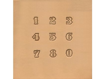 Raznice sada Číslic Standard 13 mm
