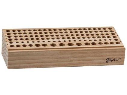 Dřevěný stojan na raznice Deluxe