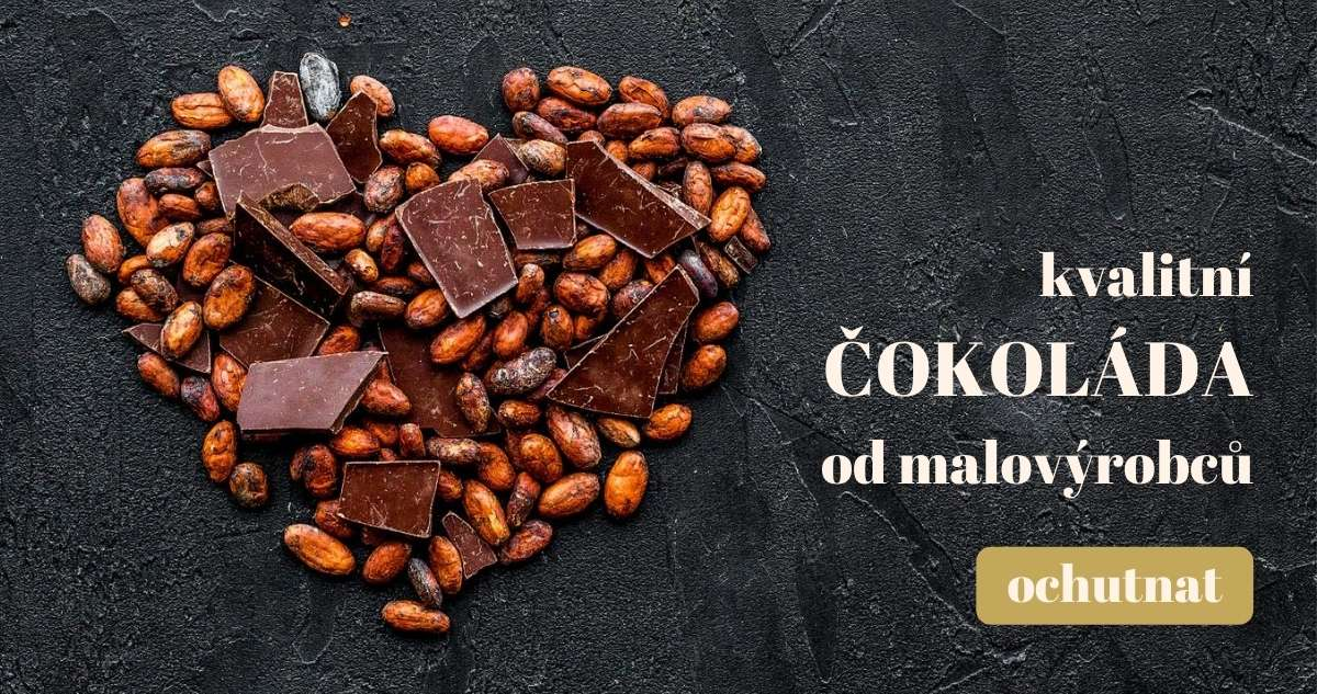 Kvalitní čokoláda