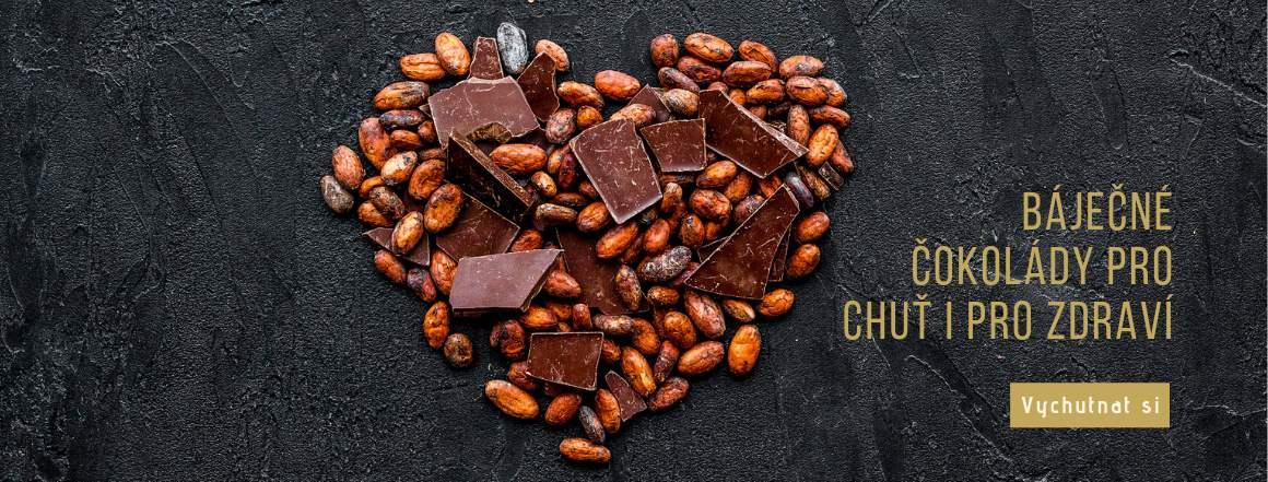 Čokoláda bez lepku a palmového oleje