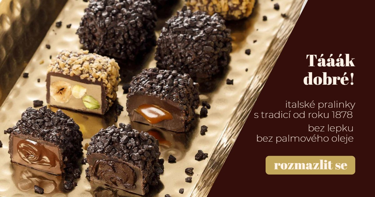Pralinky a čokoládové bonbóny