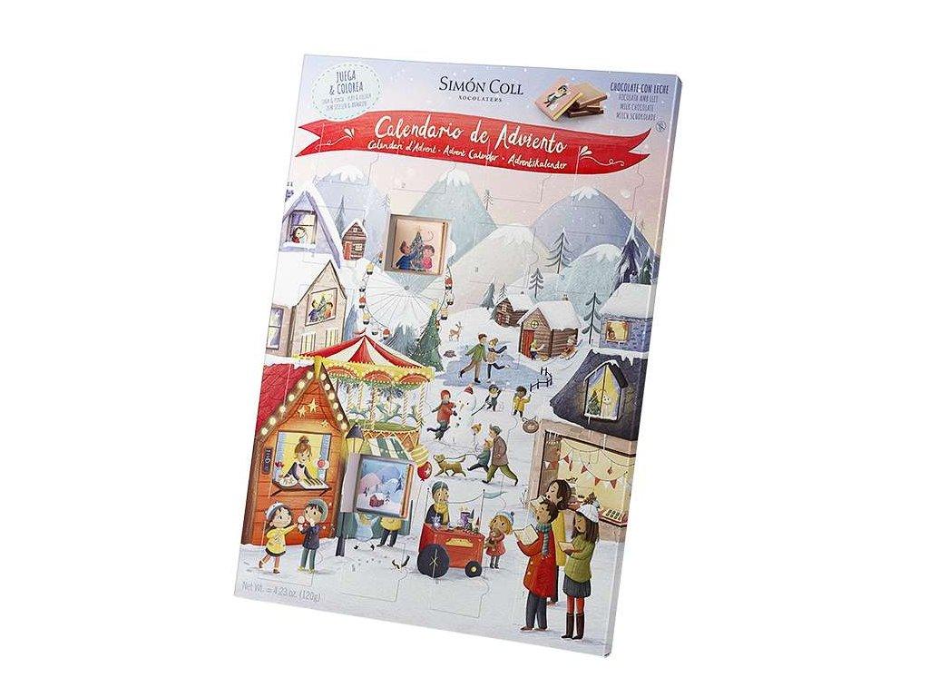 Simon Coll adventni kalendar trh