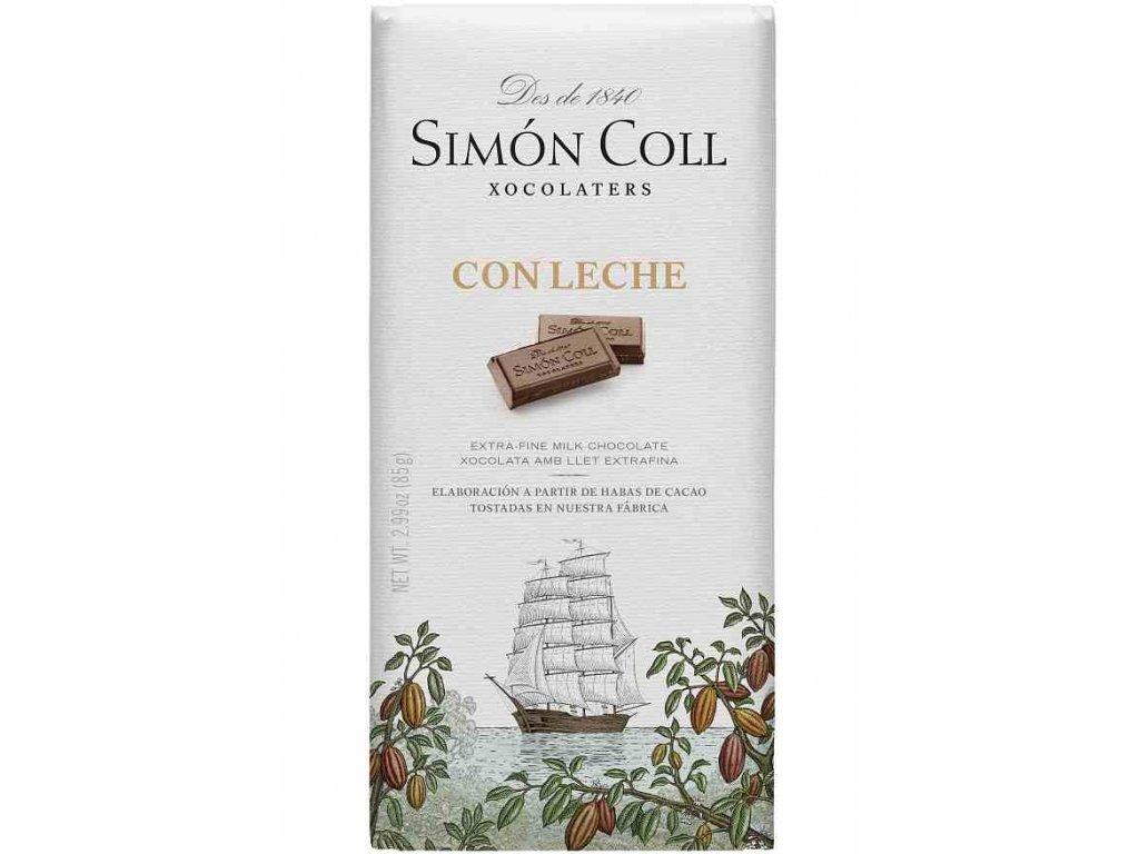 Simon Coll mlecna cokolada