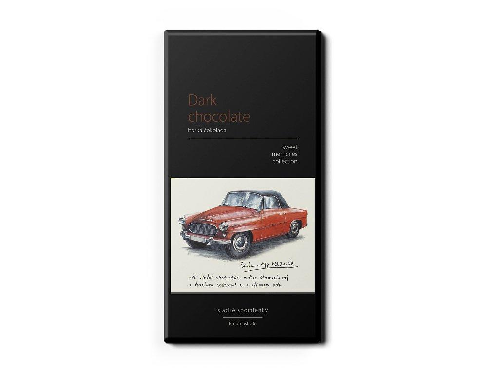 Lyra tmava cokolada Felicia