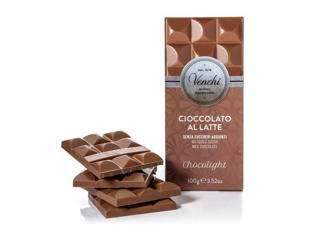 Venchi Cukr free mlecna cokolada