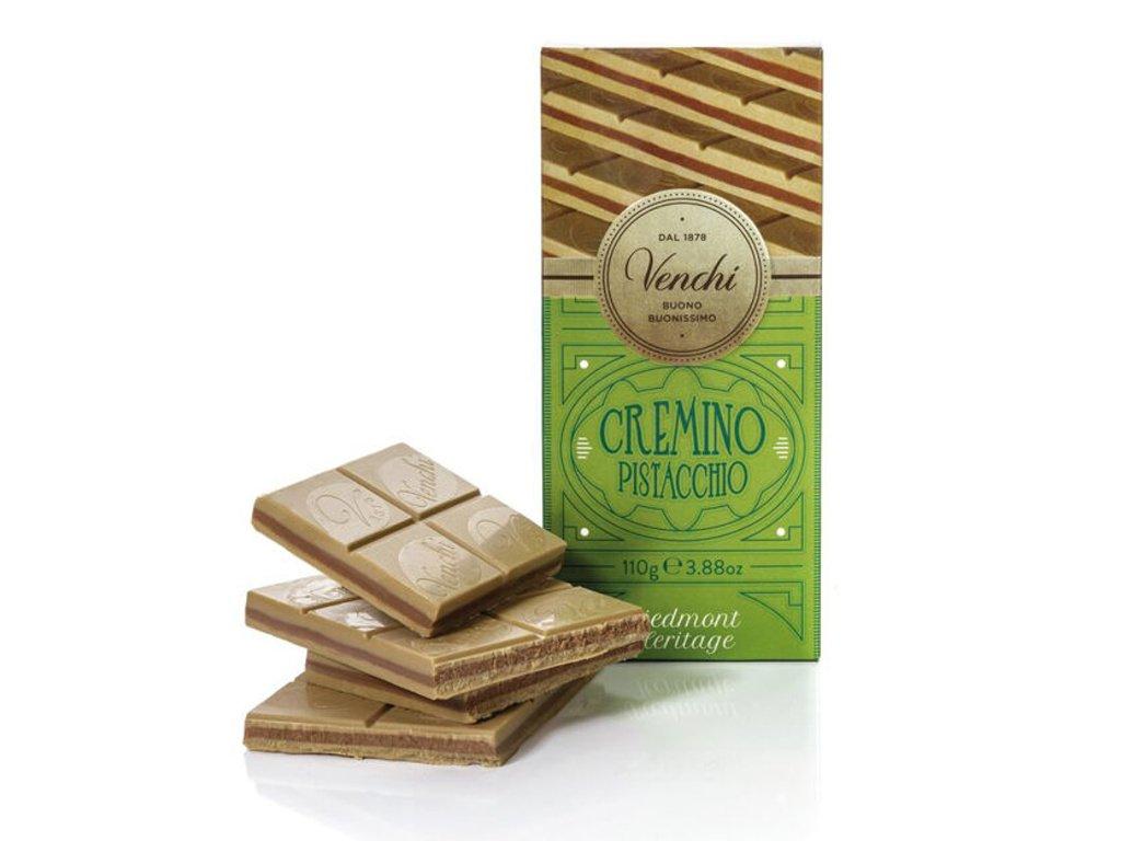 Venchi čokoláda Cremino Pistácie