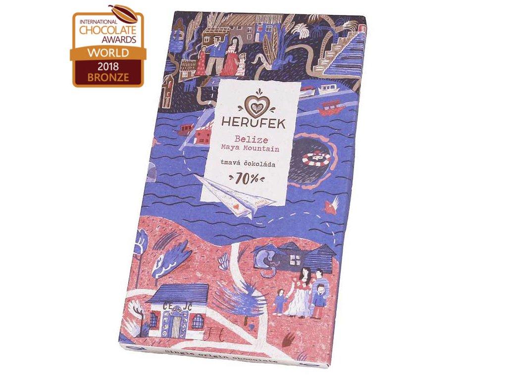 Herufek cokolada Belize 70 award