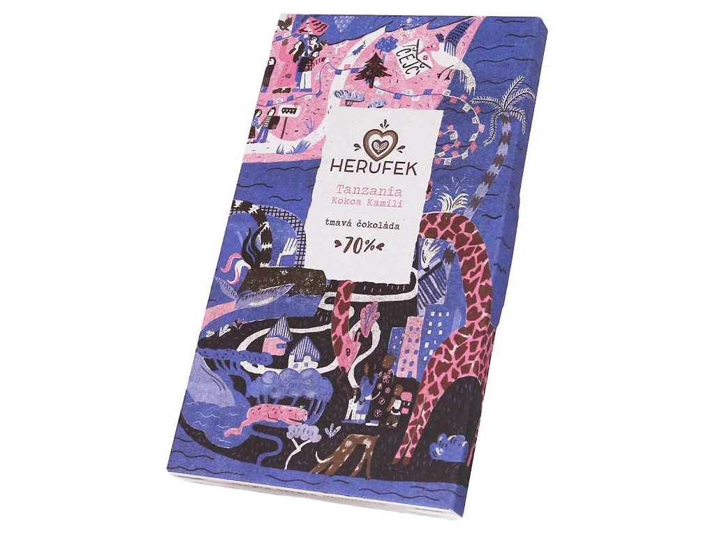 Herufek cokolada Tanzania 70