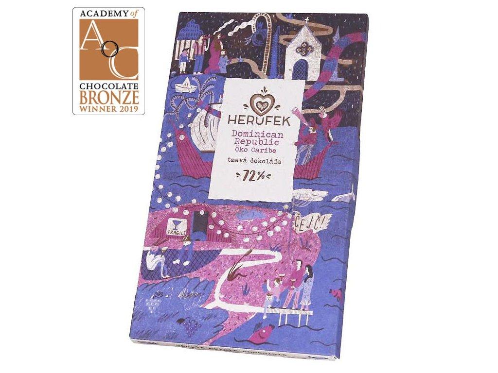 Herufek cokolada Dominican 72 award