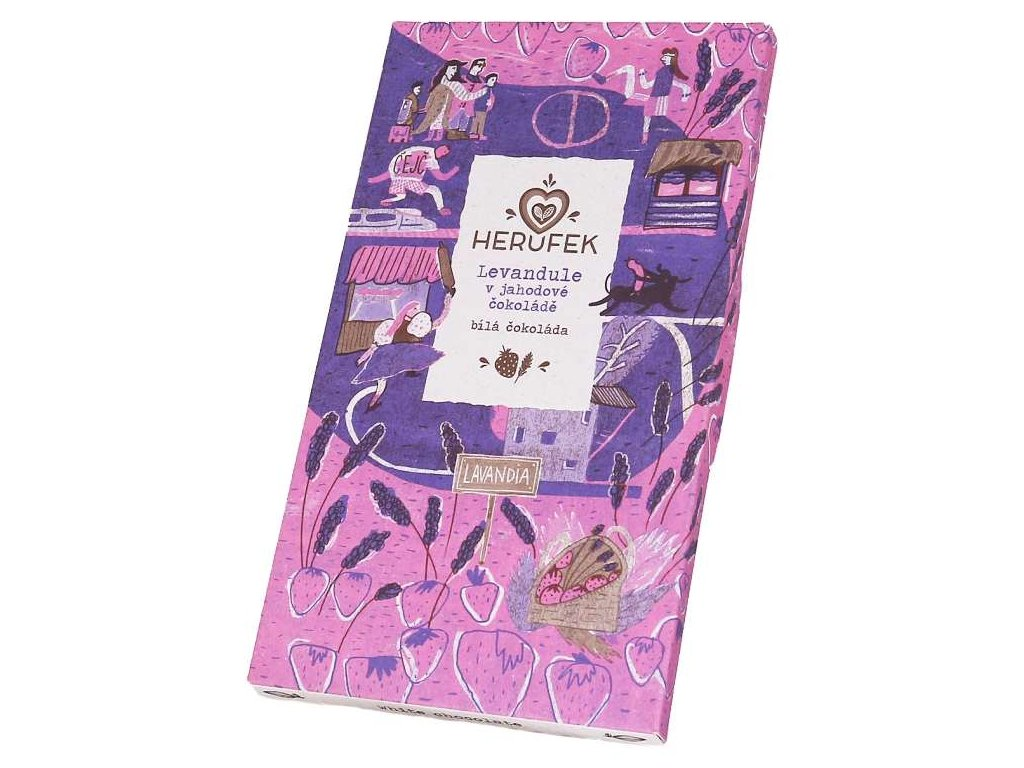 Herufek cokolada Levandule