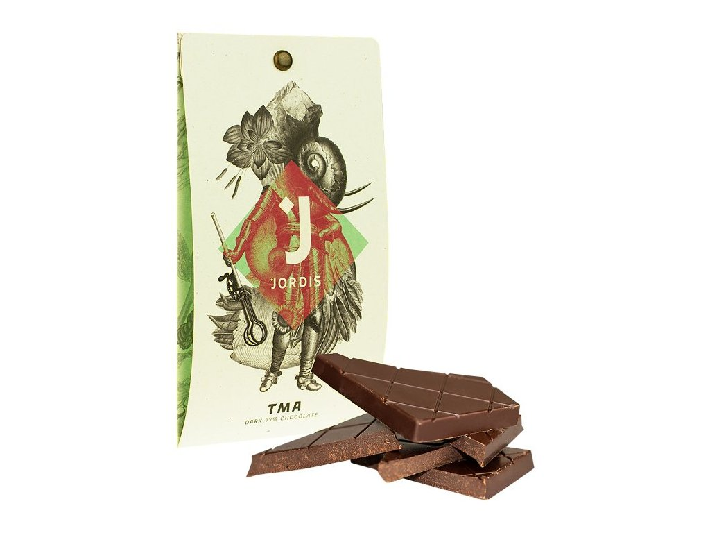 Jordis tmavá čokoláda 77