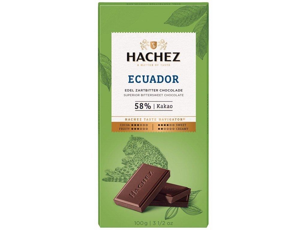 cokolada Hachez tmava 73 Ecuador