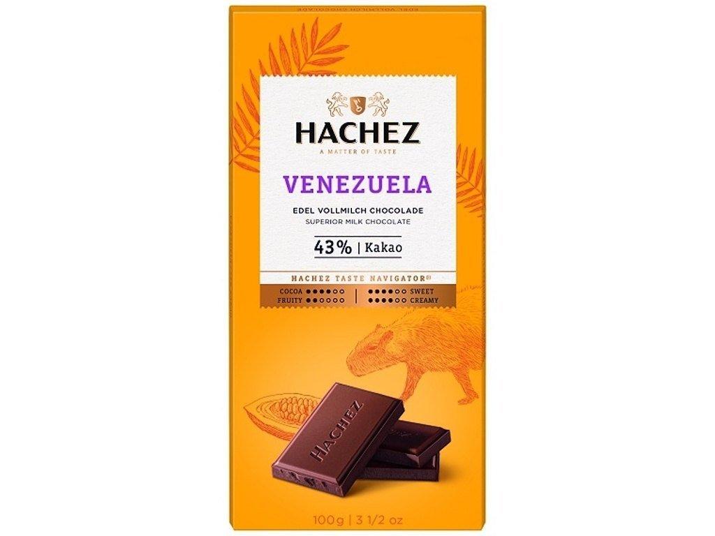 cokolada Hachez mlecna 43 Venezuela
