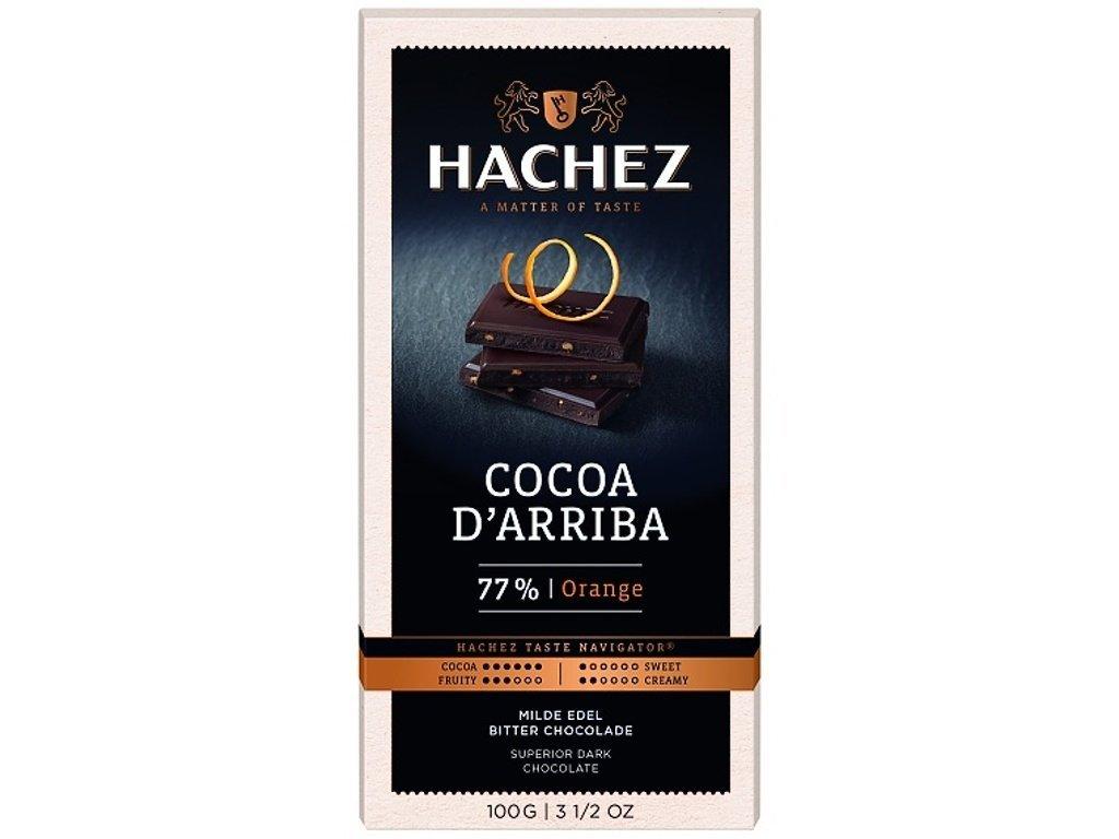 cokolada Hachez pomeranc