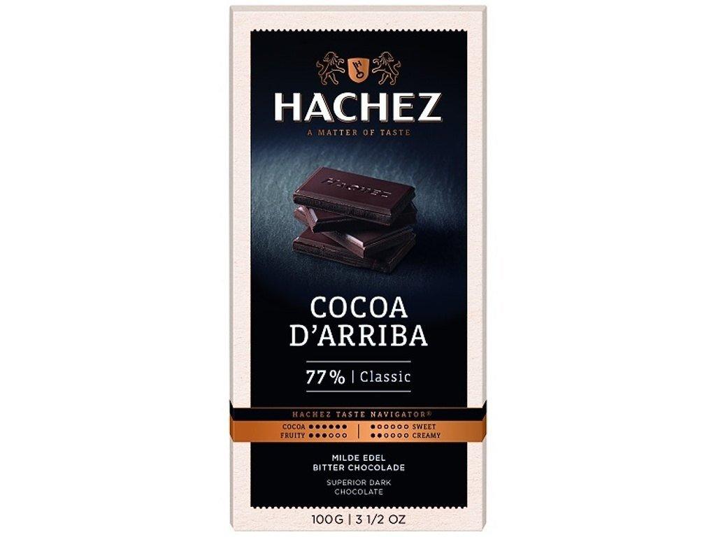 cokolada Hachez 77 Arriba