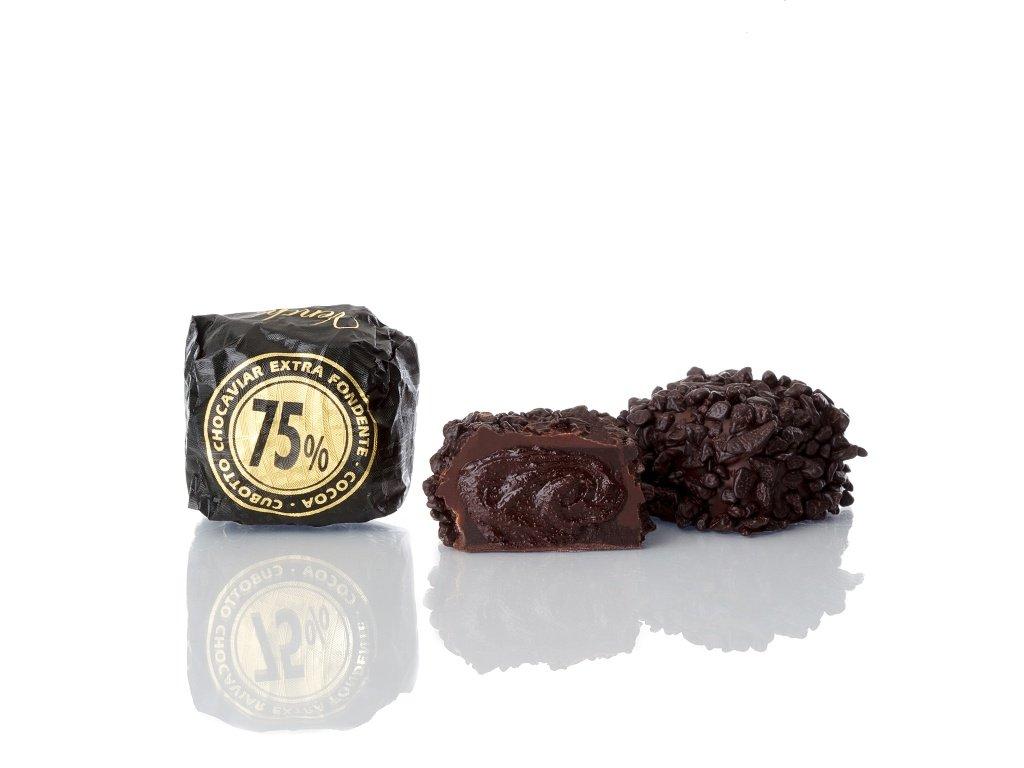 105093 Cubotto Chocaviar 75% still life 2017