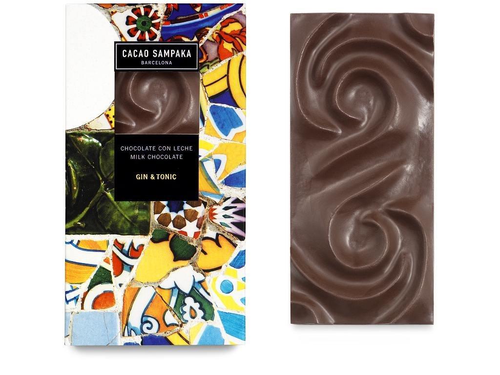 Cacao Sampaka hořká čokoláda Gin&tonic 75g