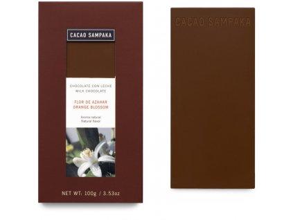 Cacao Sampaka cokolada pom kvet