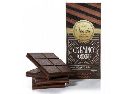 Venchi čokoláda Cremino Extra tmavá