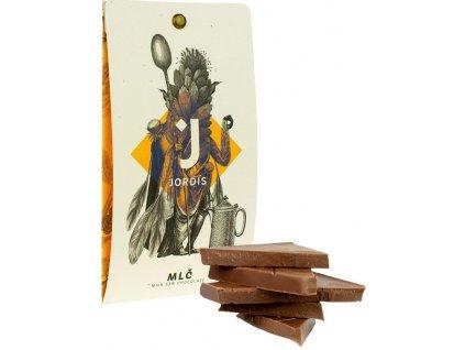 Jordis mléčná čokoláda 53 s coko