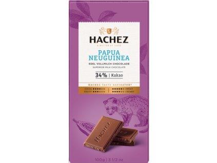 cokolada Hachez mlecna 34 Papua