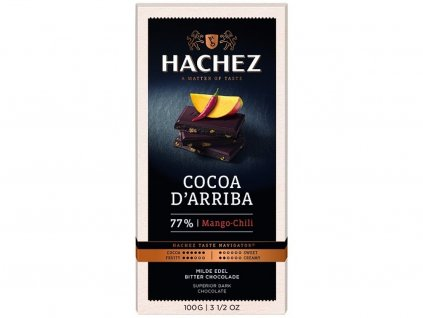 cokolada Hachez mango chilli