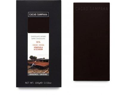 Cacao Sampaka 91% Venezuela&Ecuador