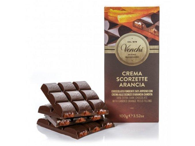 Venchi čokoláda Pomeranč