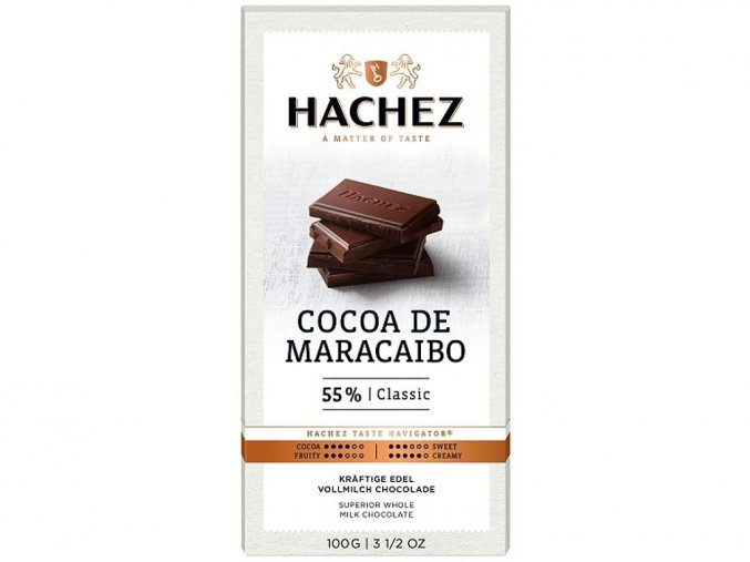 cokolada Hachez mlecna 55 Maracaibo