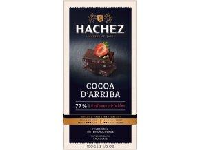 cokolada Hachez jahoda pepr